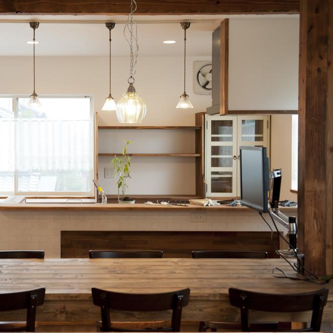 自由に使えるキッチン完備